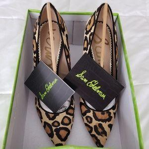 Sam Edelman Hazel Leopard Brahma, size 7.5